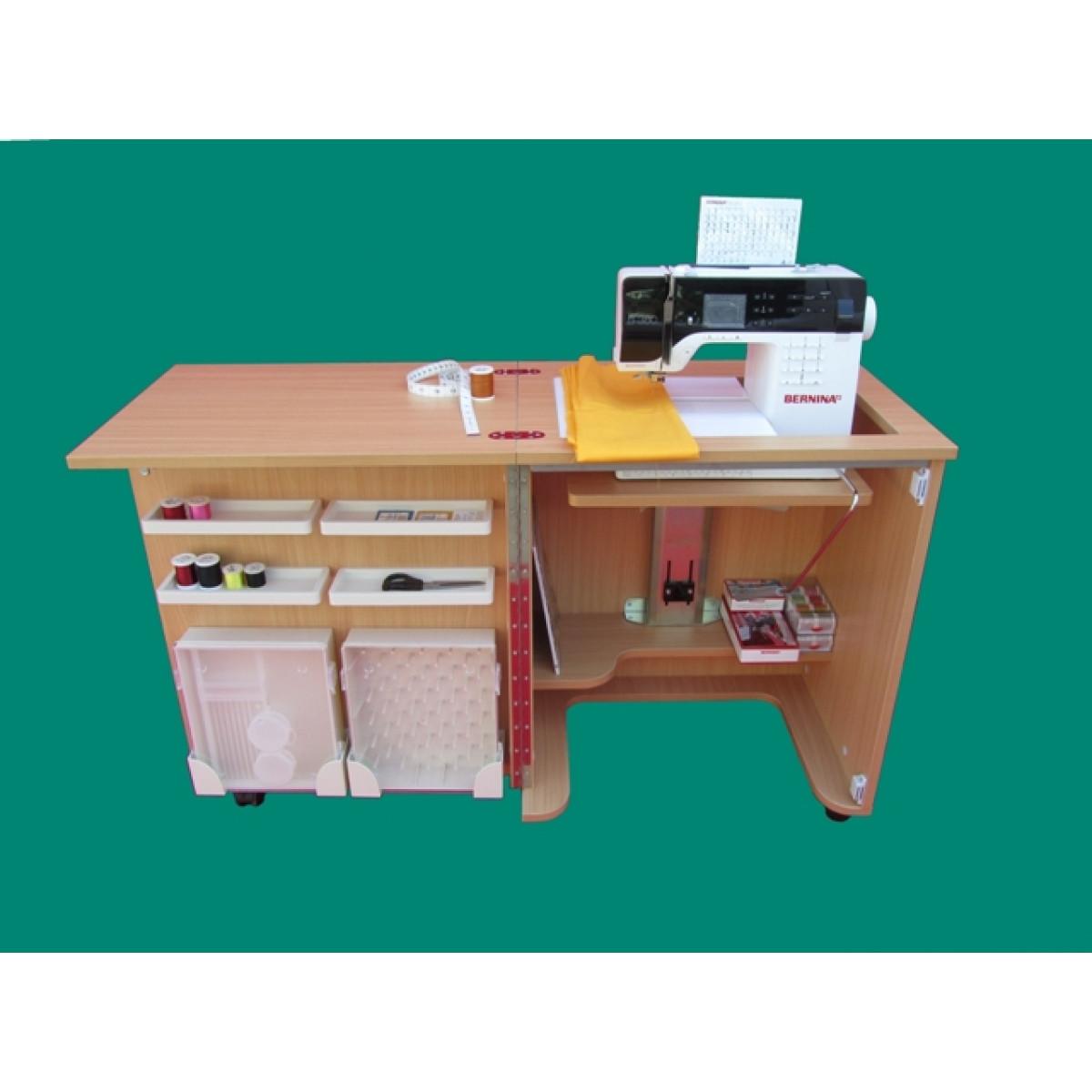 Eredi mantegazza mobile per cucire tailormade compact for Piedini singer prezzi