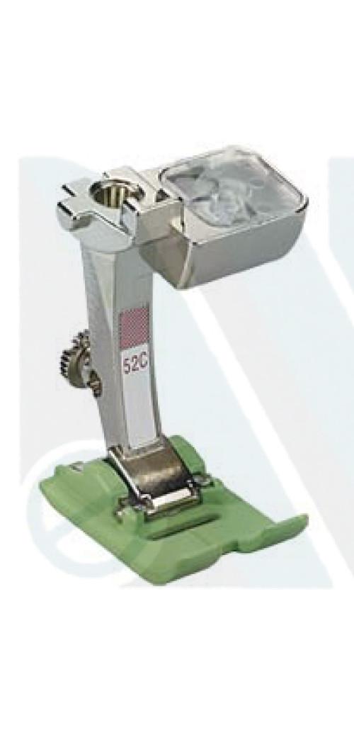 Piedino Bernina n. 52C teflon 9mm