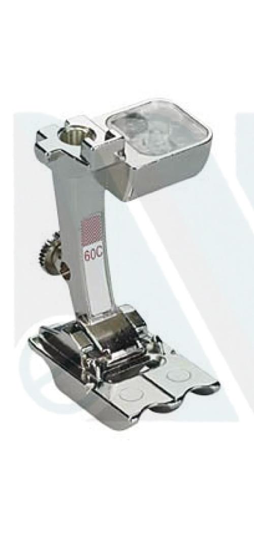 Piedino Bernina n. 60C per 2 cordoncini 7 e 8mm