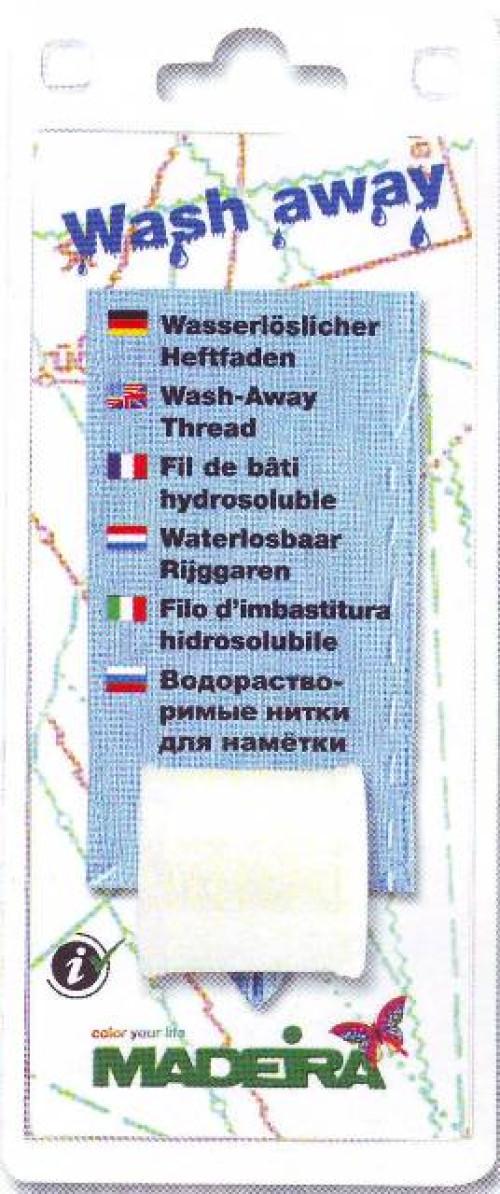 Filato Madeira per imbastire idrosolubile 200 mt
