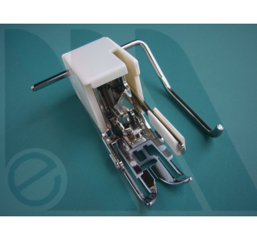 Piedino Janome doppio trasporto per macchine rotative 7mm (blister)