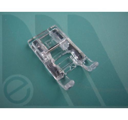 "Suola Janome trasparente ""F"" per rotative 7mm (no blister)"