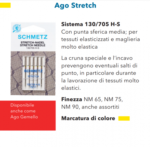 Aghi Schmetz Stretch n.90