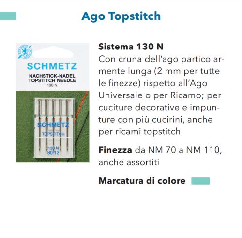 Aghi Schmetz Top Stitch n.90