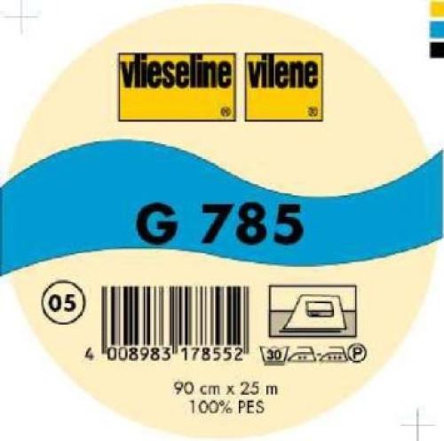 Interfodera termoadesiva tessuto Freudenberg G785 nero 90 cm x 25 mt