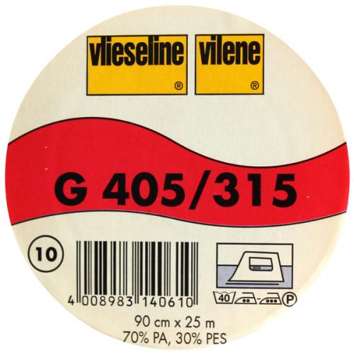 Interfodera termoadesiva Freudenberg G405 bianco 90 cm x 25 mt