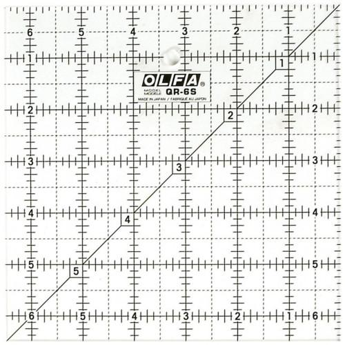 Squadra patchwork Olfa 6,5x6,5 inch