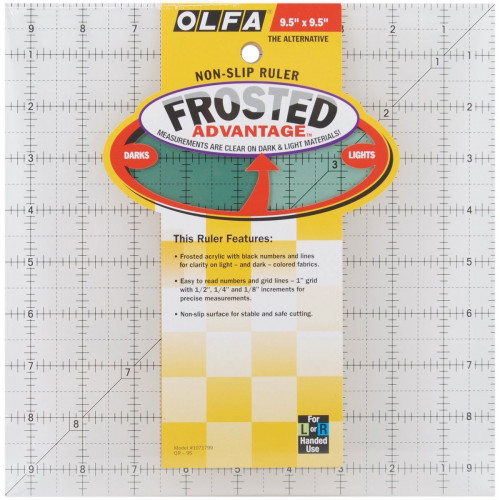 Squadra patchwork Olfa 9,5x9,5 inch (Frosted)