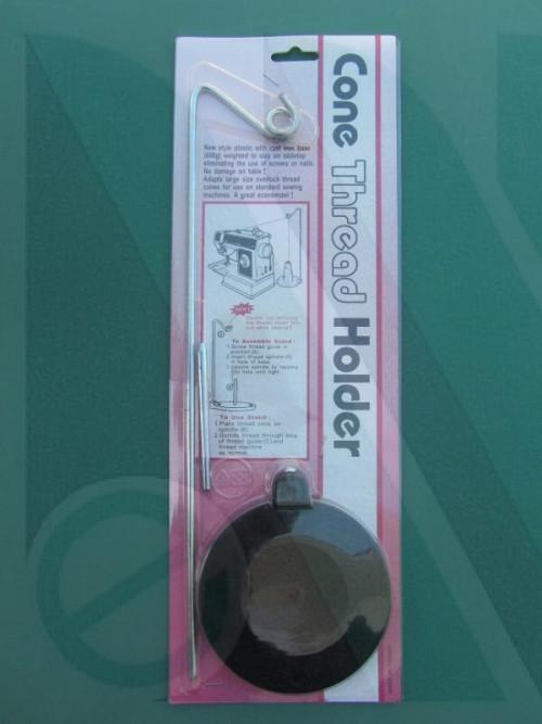 Porta spole a 1 filo con base in metallo