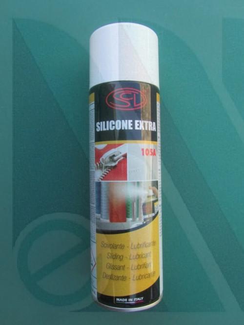 Bombola silicone extra spray 500 cc