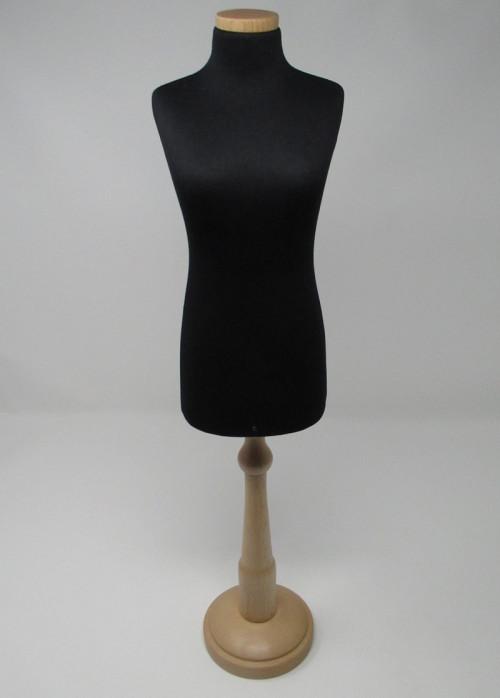 Manichino sartoria ridotto 1/3 con base legno