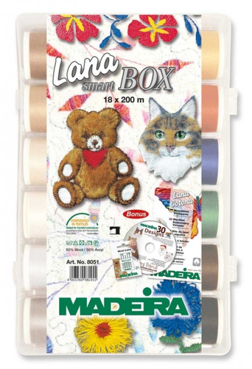 Smart box Madeira Lana N. 12