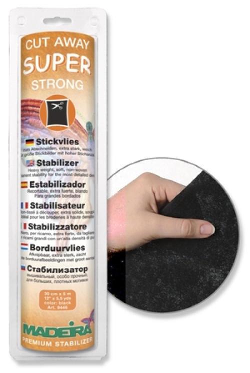 Rotolo Madeira Super Strong nero 30 cm x 5 mt